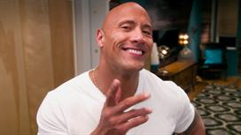 "Dwayne ""The Rock"" Johnson, Mamrie Hart & Hannah Hart"